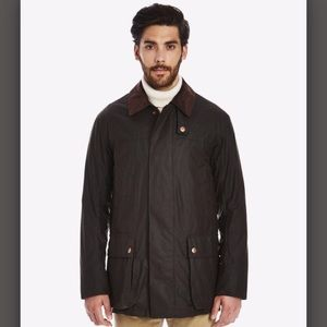Private White Cottenham Wax Jacket, Olive